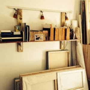 studio shelf