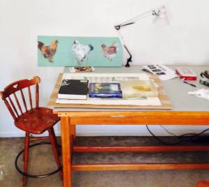 studio table