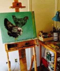 studio easel