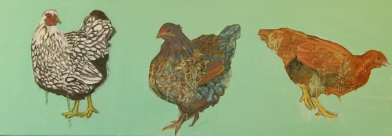 Chicken Painting Long #2