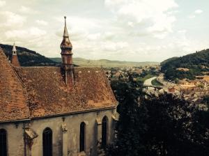 7. Sighisoara Church View