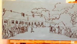 2. The Hostage Game at Ogra Gypsy Village Sketch