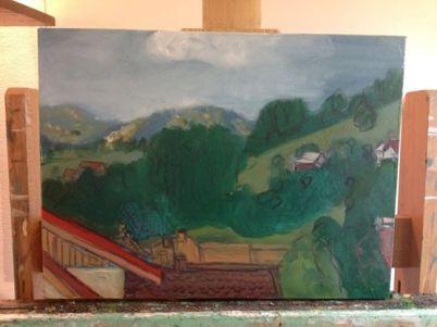 romania romania hillside