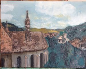 Romania Sighisoara Church View 2nd coat