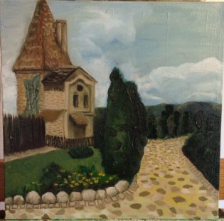 Sighisoara Tower 2nd Coat