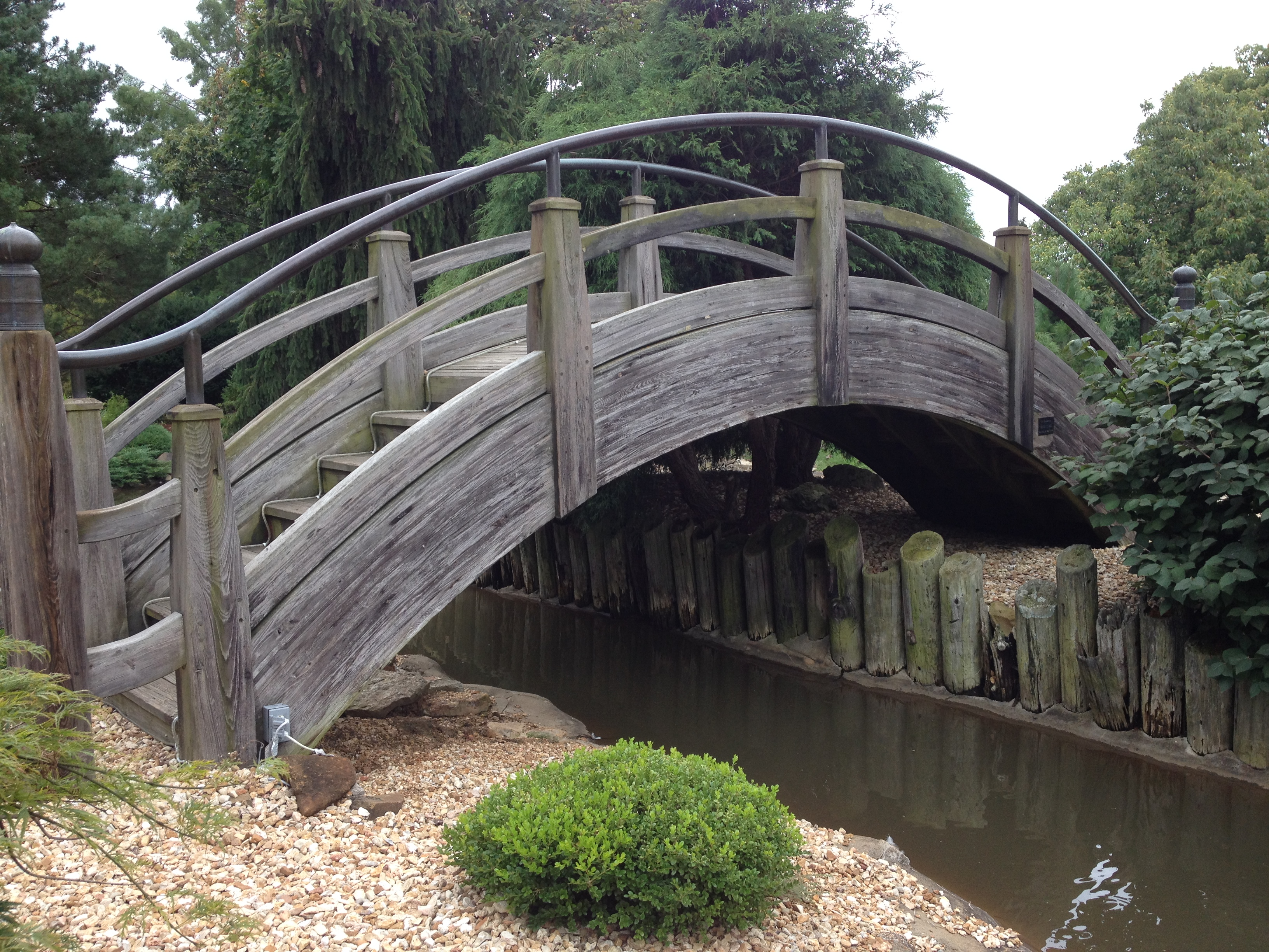 inspiration for this drawing - Japanese Garden Bridge Drawing